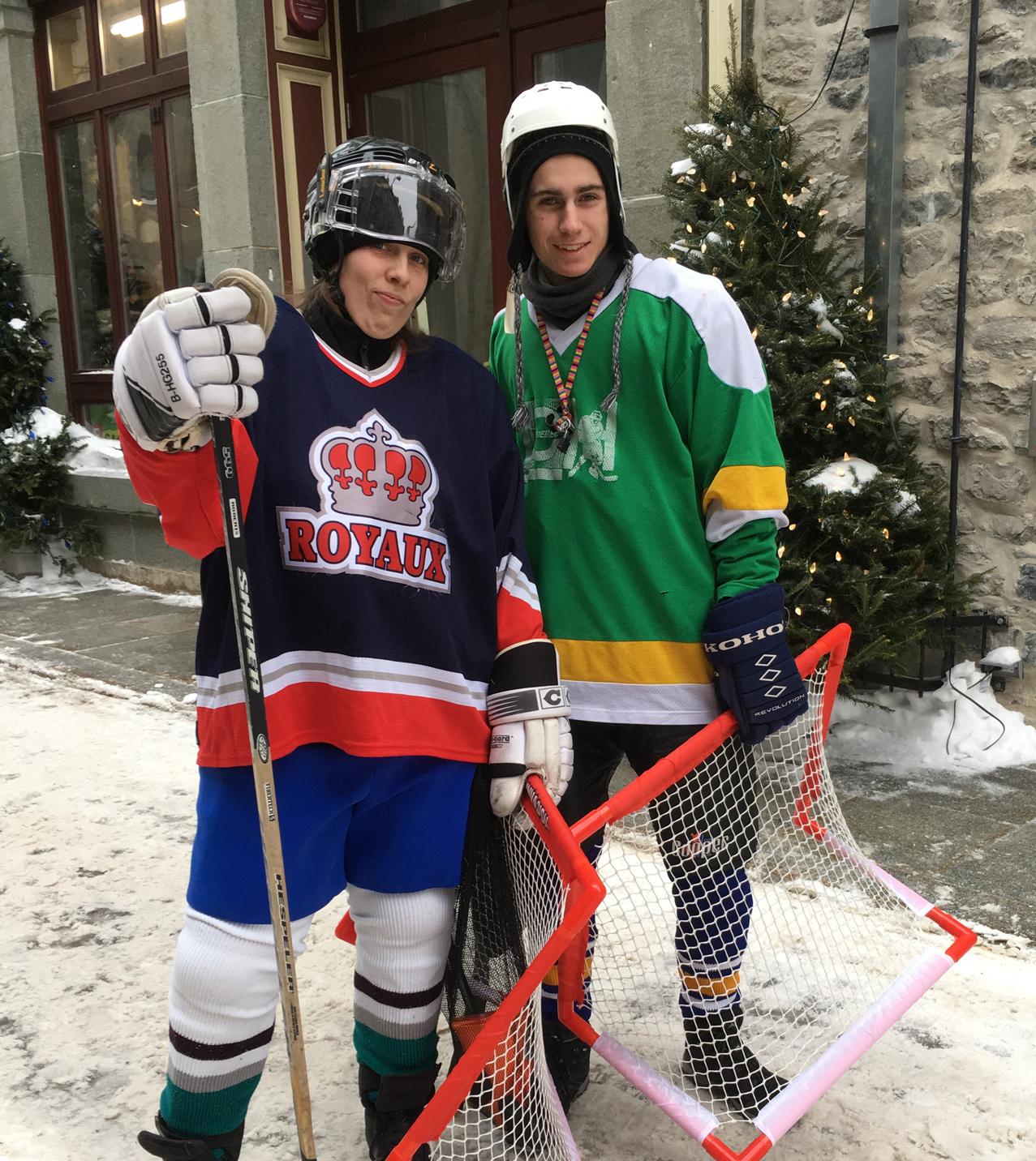 Joueur hockey